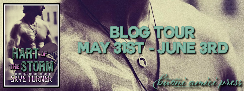 Blog Tour- Hart of the Storm by Skye Turner