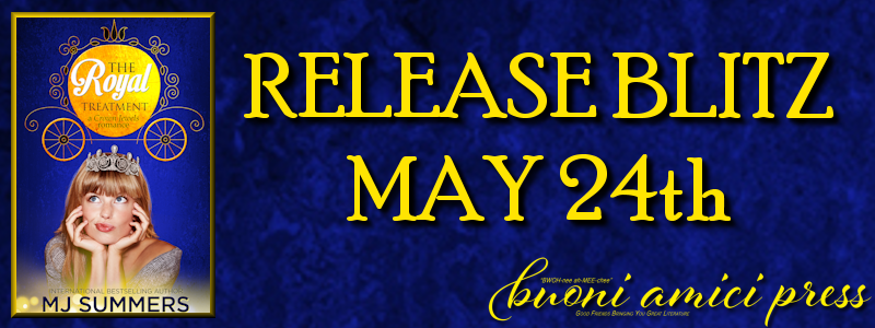 Release Blitz- The Royal Treatment By MJ Summers