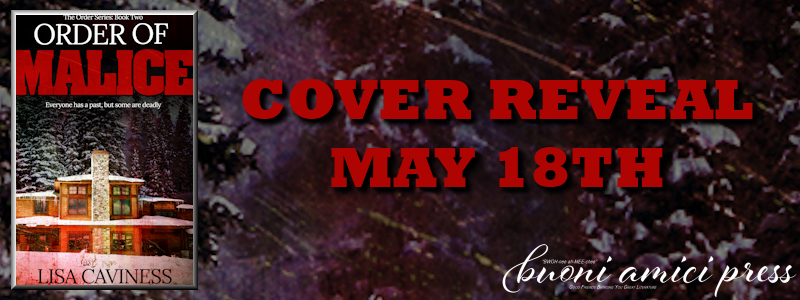 Cover Reveal- Order of Malice By Lisa Caviness