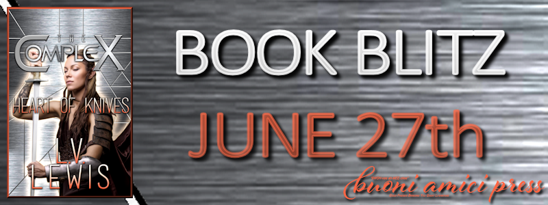 Book Blitz- Heart of Knives By LV Lewis