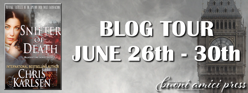 Blog Tour- Snifter of Death By Chris Karlsen