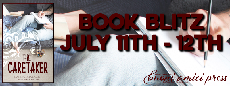 Book Blitz- The Caretaker (The Sin Bin #2) By Dahlia Donovan