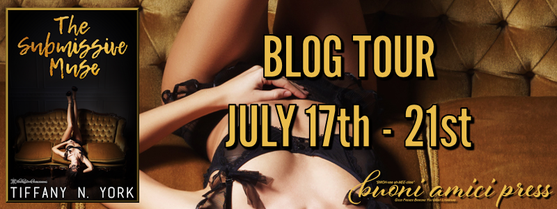 Blog Tour- The Submissive Muse By Tiffany N. York