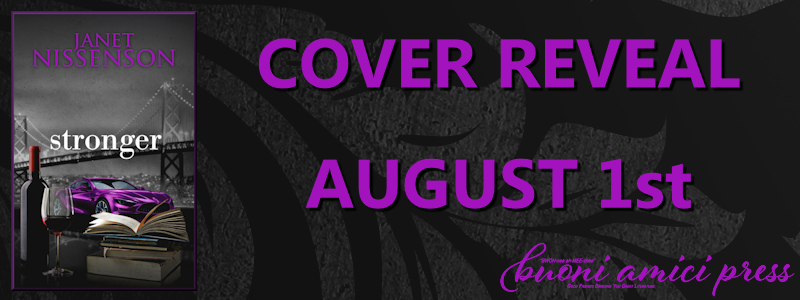 Cover Reveal- Stronger (Inevitable #6) By Janet Nissenson