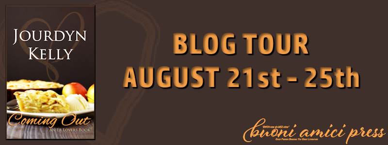 Blog Tour- Coming Out By Jourdyn Kelly