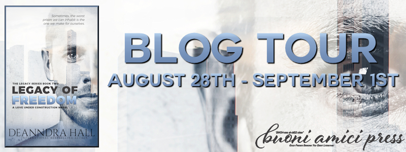 Blog Tour- Legacy of Freedom By Deanndra Hall