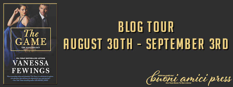 Blog Tour- The Game By Vanessa Fewings