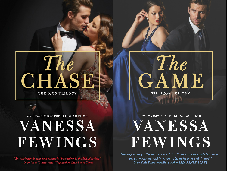 Review The Chase & The Game (The ICON Trilogy, Books 1 & 2) by Vanessa Fewings