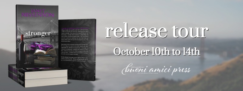 Release Tour- Stronger (Inevitable #6) By Janet Nissenson