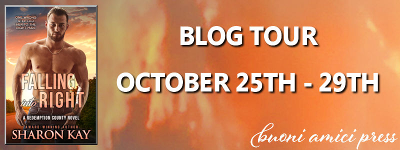 Blog Tour- Falling into Right By Sharon Kay