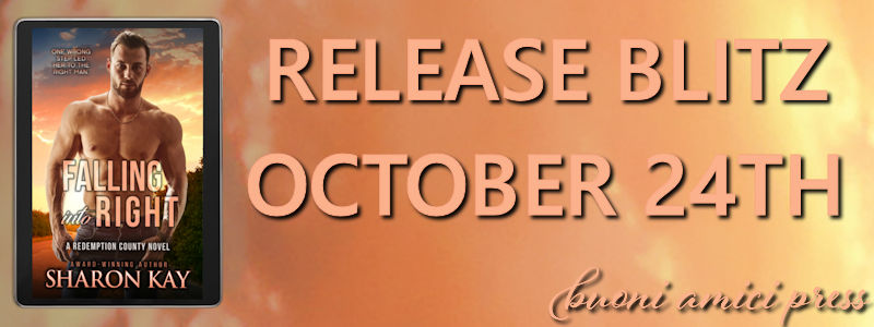 Release Blitz- Falling into Right By Sharon Kay