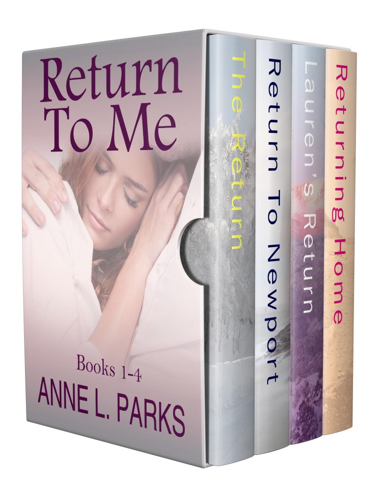 Boxset 4books transparent