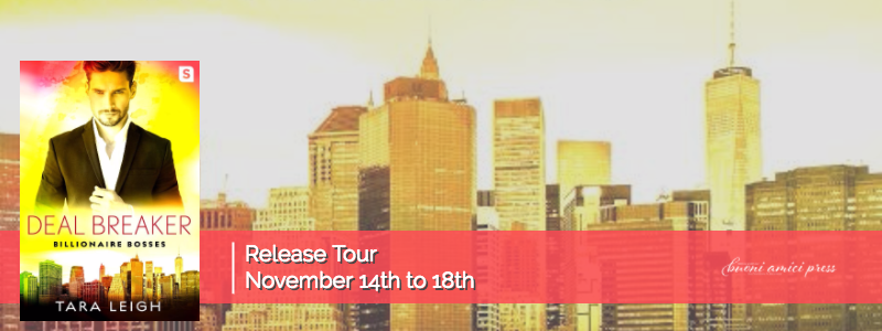 #ReleaseTour Deal Breaker By Tara Leigh