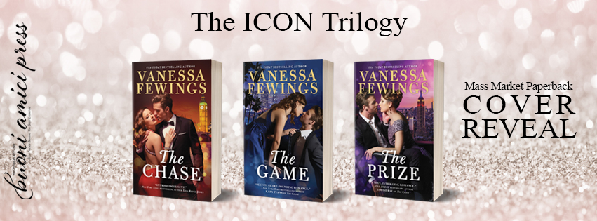 #CoverReveal The Icon Trilogy By Vanessa Fewings