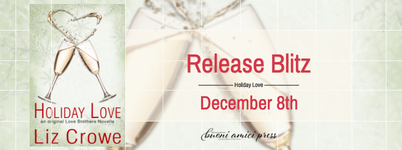 #ReleaseBlitz Holiday Love By Liz Crowe