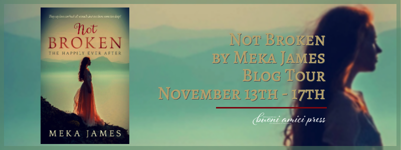 #BlogTour Not Broken By Meka James