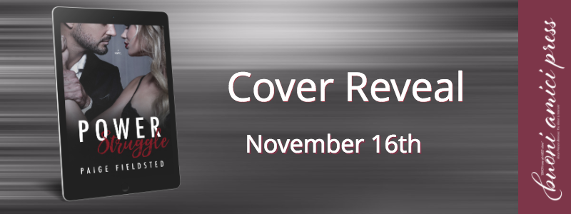 #CoverReveal Power Struggle By Paige Fieldsted