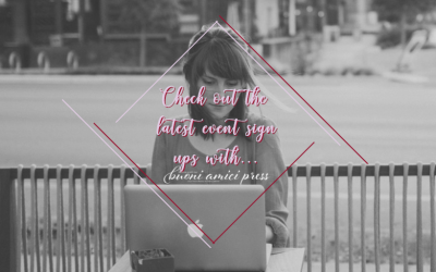 [New Sign Ups] Events from NYTimes & USA TODAY Bestselling author Heidi McLaughlin, USA TODAY Bestselling authors Vanessa Fewings & Tracey Alvarez.