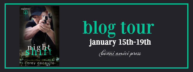 #BlogTour Night Shift (Night Shade 2) By Carey Decevito