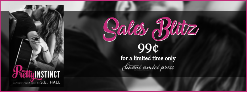 #SalesBlitz Pretty Instinct By S.E. Hall