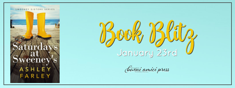 #BookBlitz Saturdays at Sweeney's By Ashley Farley