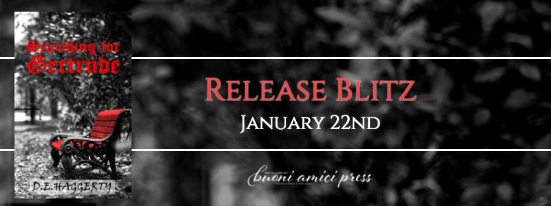 #ReleaseBlitz Searching For Gertrude By D.E. Haggerty