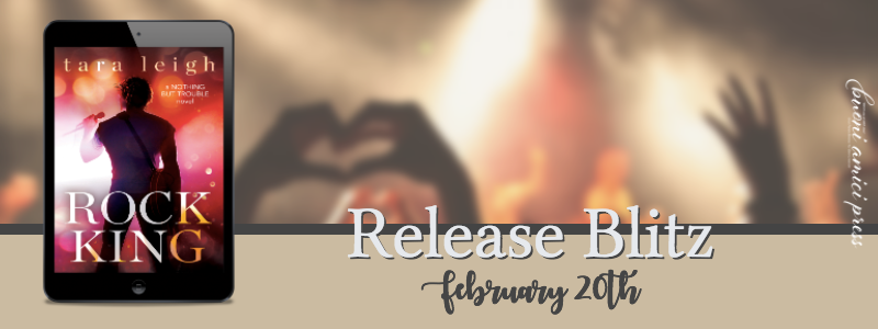 #ReleaseBlitz Rock King By Tara Leigh