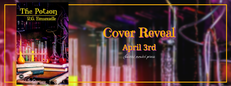 #CoverReveal  The Potion By R.G. Emmanuelle