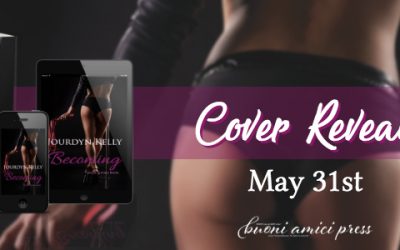 #CoverReveal Becoming (An LA Lovers Book) By Jourdyn Kelly