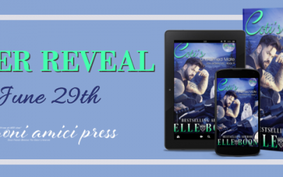 #CoverReveal Coti's Unclaimed Mate( Iron Wolves, MC Book 9) By Elle Boon