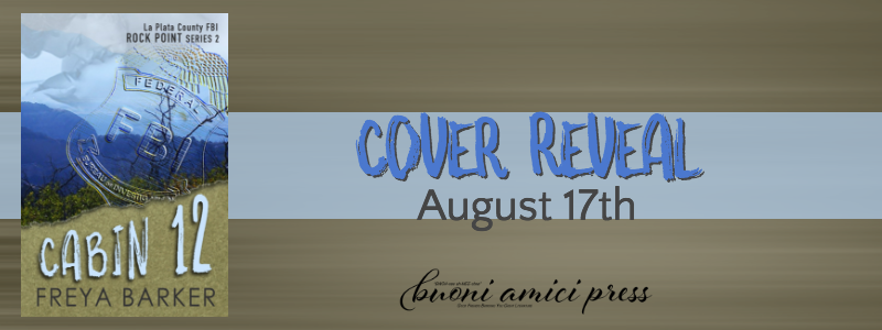 #CoverReveal Cabin 12 (Rock Point #2) By Freya Barker