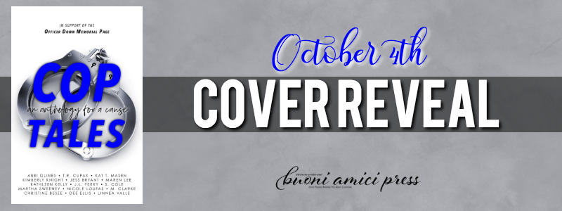 #CoverReveal Cop Tales An Anthology for a Cause