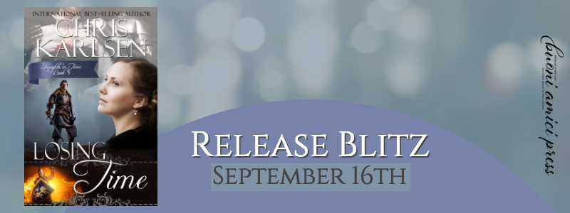 #ReleaseBlitz Losing Time By Chris Karlsen