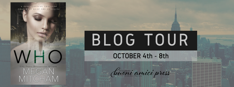 #BlogTour Who By Megan Mitcham