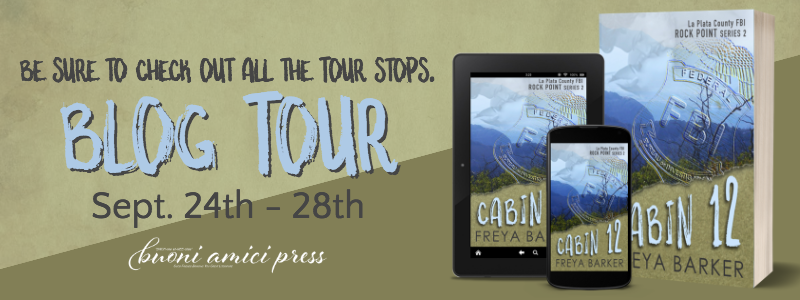 Cabin 12 by Freya Barker Blog Tour