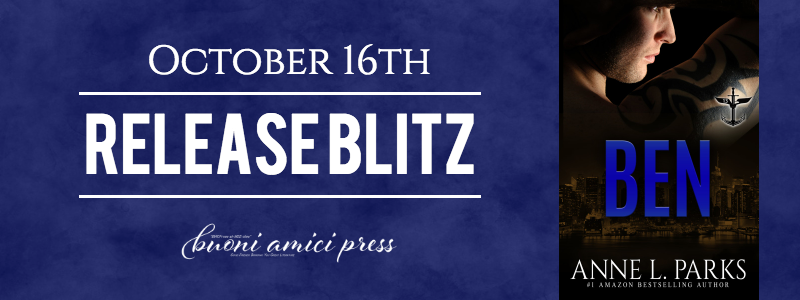 #ReleaseBlitz Ben (The 13, Book 4) By Anne L. Parks