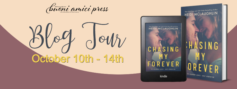 #BlogTour Chasing My Forever By Heidi McLaughlin