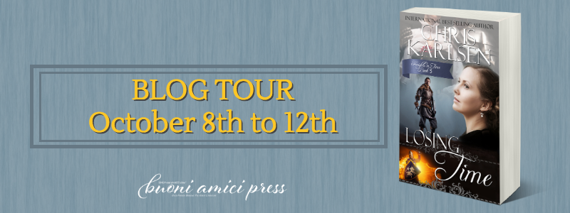#BlogTour Losing Time By Chris Karlsen