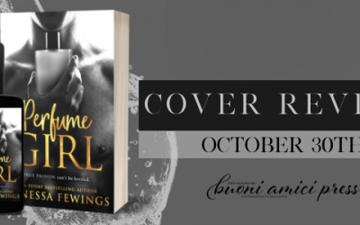 #CoverReveal Perfume Girl By Vanessa Fewings