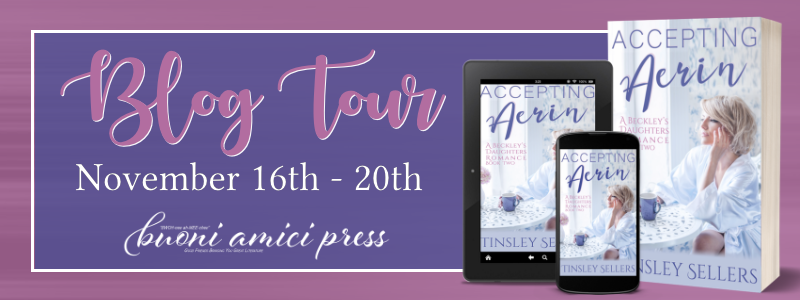 #BlogTour Accepting Aerin By Tinsley Sellers