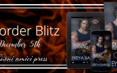 #PreOrderBlitz Burning for Autumn By Freya Barker