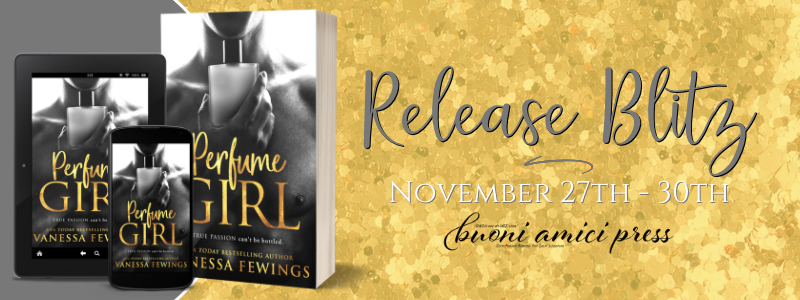 #ReleaseBlitz Perfume Girl By Vanessa Fewings