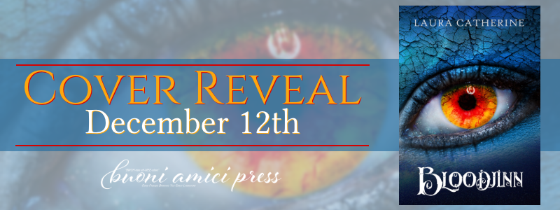 #CoverReveal Bloodjinn (Djinn #3) By Laura Catherine