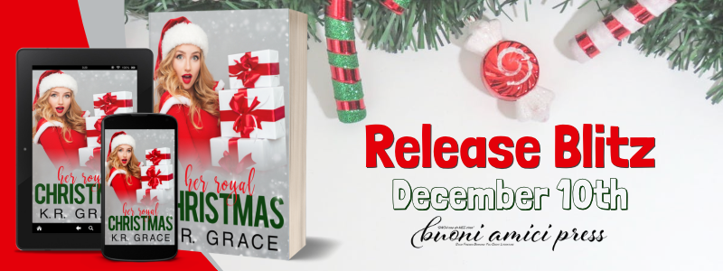 #ReleaseBlitz Her Royal Christmas By K.R. Grace
