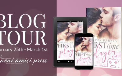 #BlogTour First time Player By Poppy Parkes