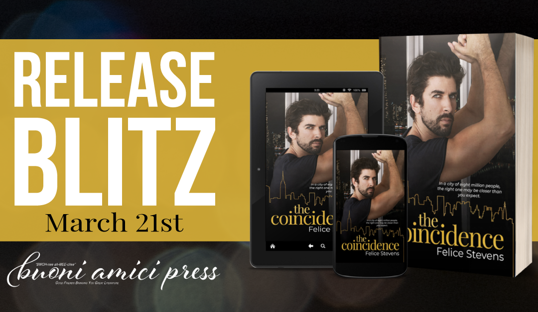 #ReleaseBlitz The Coincidence By Felice Stevens