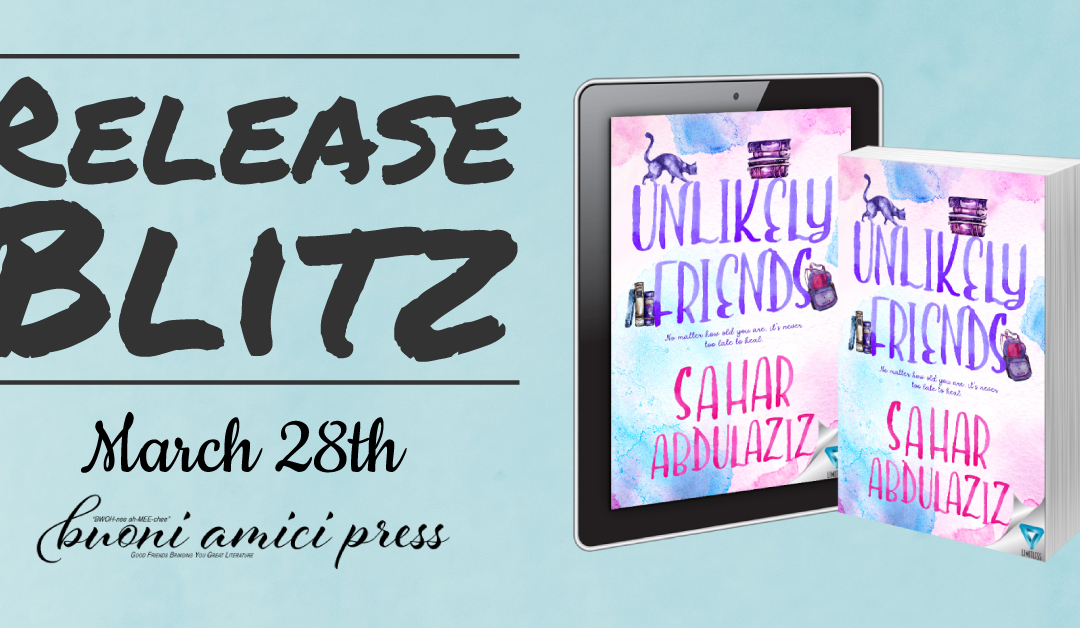 #BookBlitz Unlikely Friends By Sahar Abdulaziz