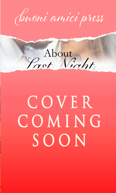 [New Event] About Last Night by Carter Ashby Cover Reveal