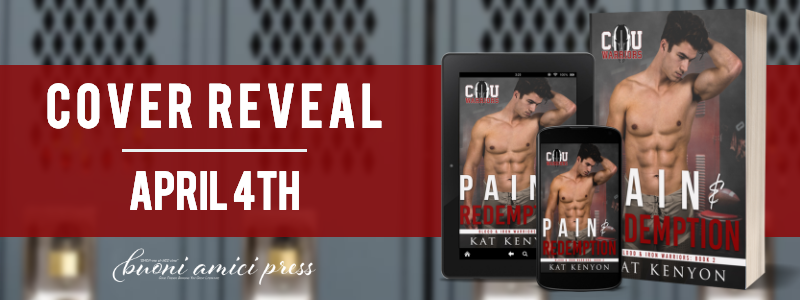 #CoverReveal Pain and Redemption By Kat Kenyon