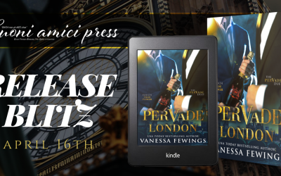 #ReleaseBlitz Pervade London #CoverReveal Pervade Montego Bay By Vanessa Fewings